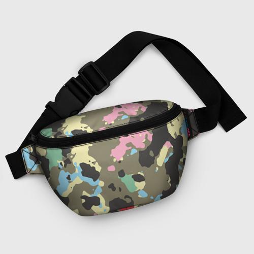 Поясная сумка 3D Камуфляж Фото 01