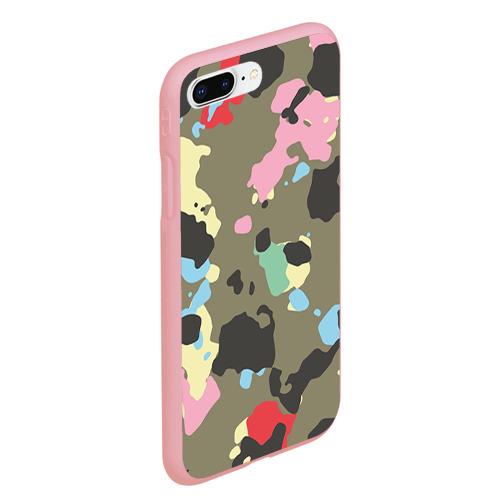Чехол для iPhone 7Plus/8 Plus матовый Камуфляж Фото 01