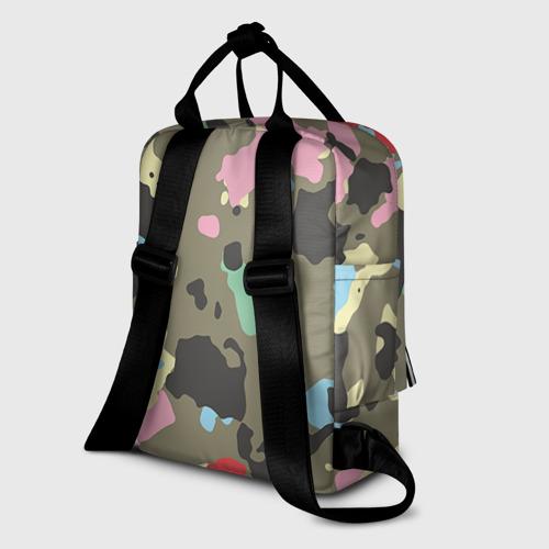 Женский рюкзак 3D Камуфляж Фото 01