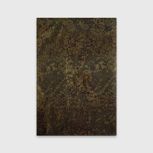 Обложка для паспорта матовая кожа  Фото 02, Хаки
