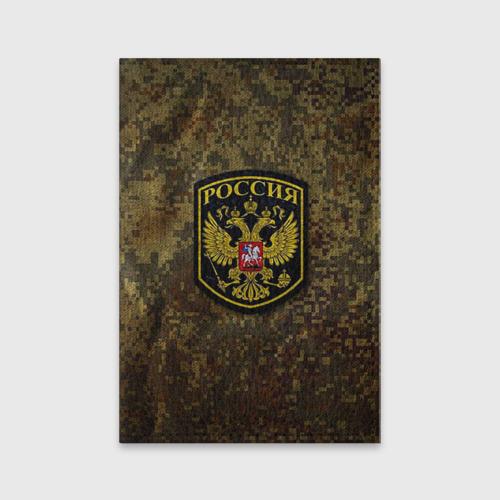 Обложка для паспорта матовая кожа  Фото 01, Хаки