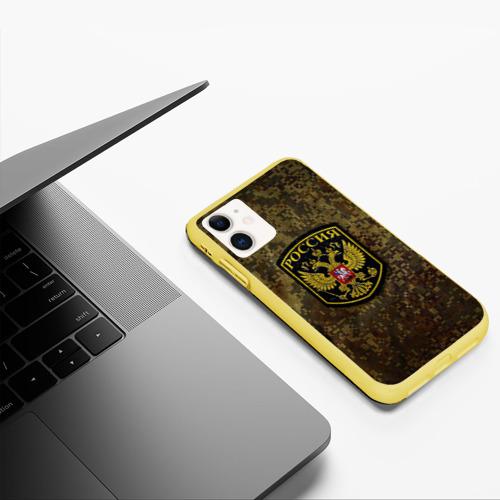 Чехол для iPhone 11 матовый Хаки Фото 01