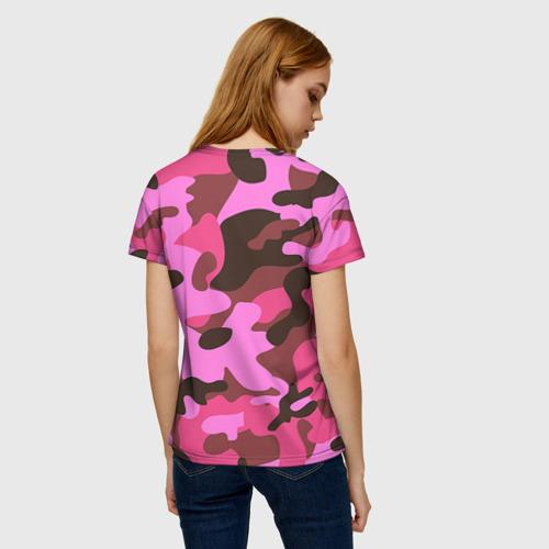 Женская футболка 3D Камуфляж Фото 01