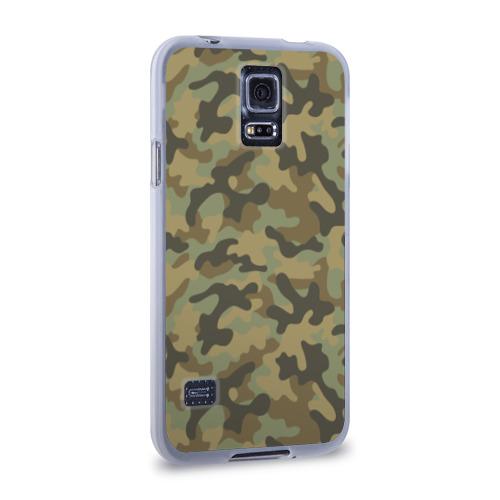 Чехол для Samsung Galaxy S5 силиконовый  Фото 02, Хаки