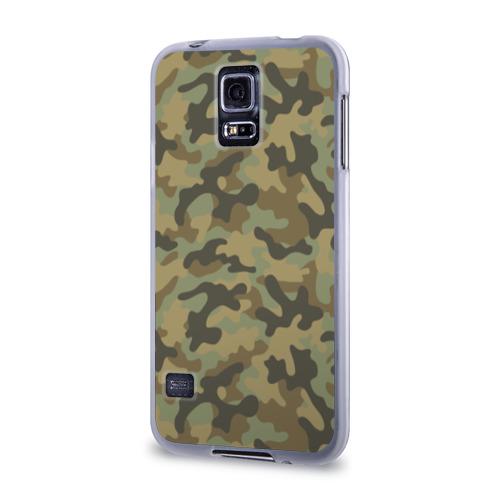 Чехол для Samsung Galaxy S5 силиконовый  Фото 03, Хаки