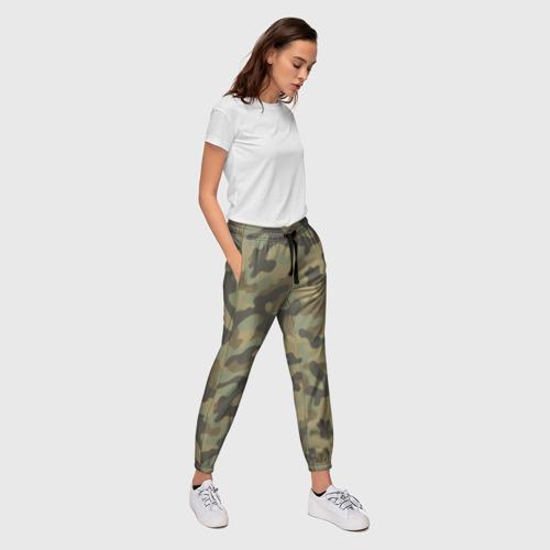 Женские брюки 3D Хаки Фото 01