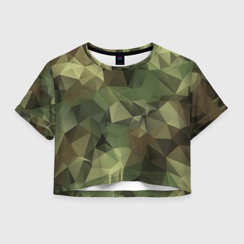 Женская футболка Cropp-top Камуфляж Фото 01