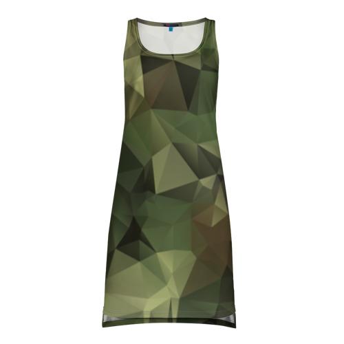 Платье-майка 3D Камуфляж