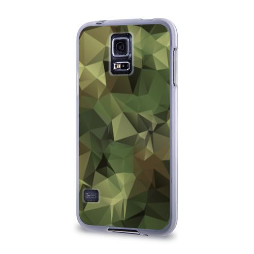 Чехол для Samsung Galaxy S5 силиконовый Камуфляж Фото 01