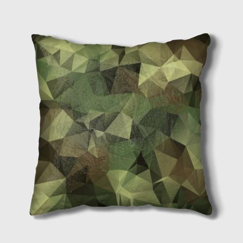Подушка 3D Камуфляж Фото 01