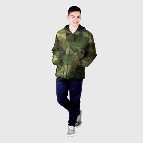 Мужская куртка 3D  Фото 03, Камуфляж