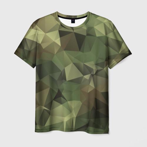Мужская футболка 3D  Фото 03, Камуфляж
