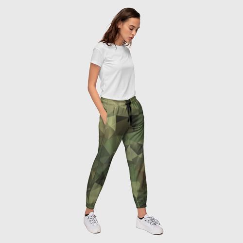 Женские брюки 3D Камуфляж Фото 01