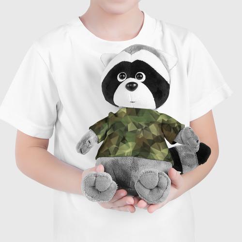 Енотик в футболке 3D Камуфляж Фото 01