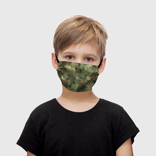 Детская маска (+5 фильтров) Камуфляж Фото 01