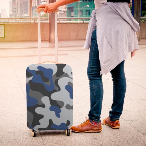 Чехол для чемодана 3D Камуфляж Фото 01