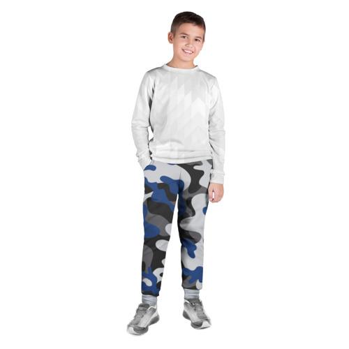 Детские брюки 3D Камуфляж Фото 01