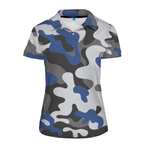 Женская рубашка поло 3D Камуфляж