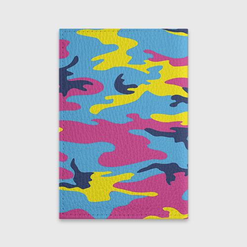 Обложка для паспорта матовая кожа  Фото 02, Камуфляж