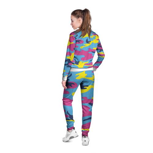 Женская олимпийка 3D  Фото 04, Камуфляж