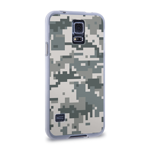 Чехол для Samsung Galaxy S5 силиконовый  Фото 02, Камуфляж