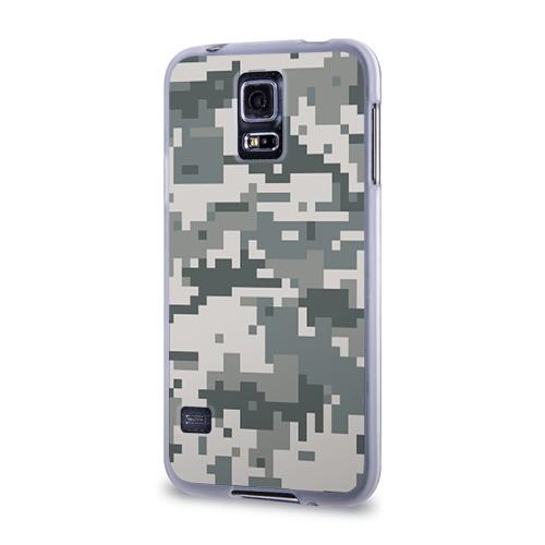 Чехол для Samsung Galaxy S5 силиконовый  Фото 03, Камуфляж