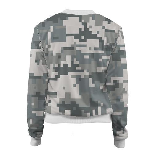 Женский бомбер 3D  Фото 02, Камуфляж