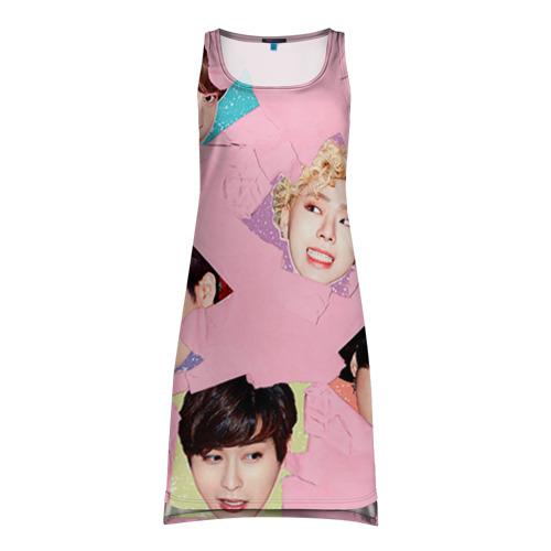 Платье-майка 3D Block b