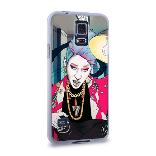Чехол для Samsung Galaxy S5 силиконовый  Фото 02, Block b