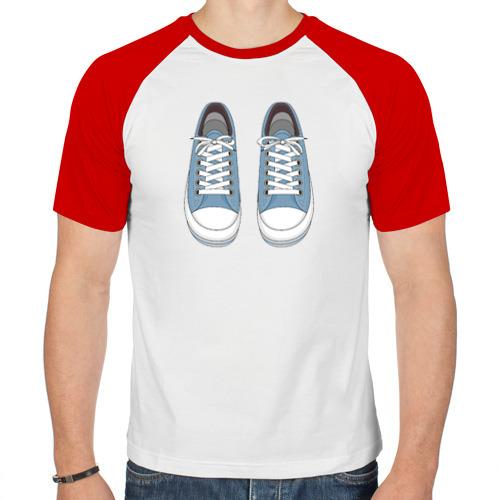 Мужская футболка реглан  Фото 01, Кеды