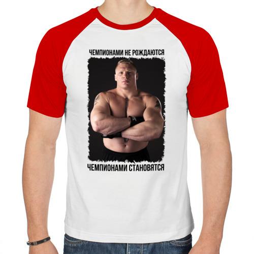 Мужская футболка реглан  Фото 01, Брок Леснар (Brock Lesnar)