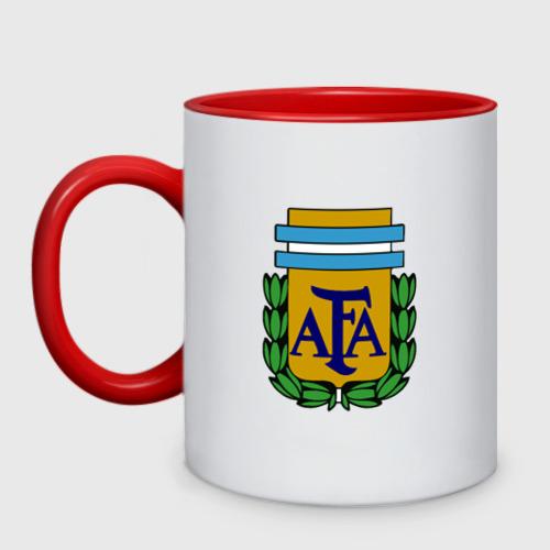 Кружка двухцветная Сборная Аргентины