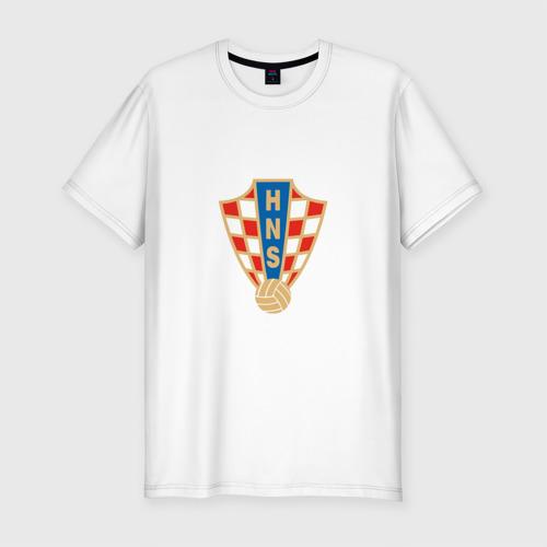 Мужская футболка премиум Сборная Хорватии