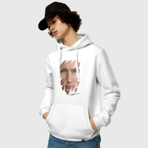 Мужская толстовка хлопок  Фото 03, Президент РФ (с подписью)