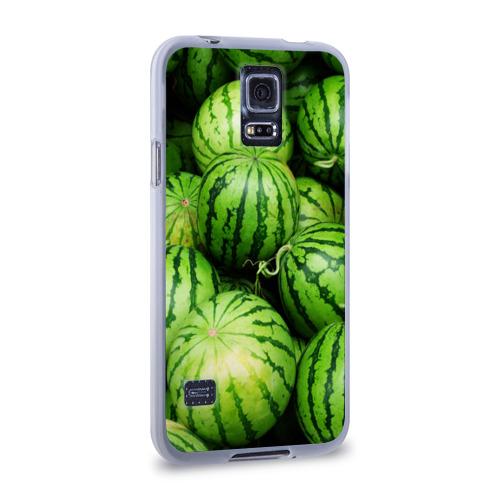 Чехол для Samsung Galaxy S5 силиконовый  Фото 02, Арбузы