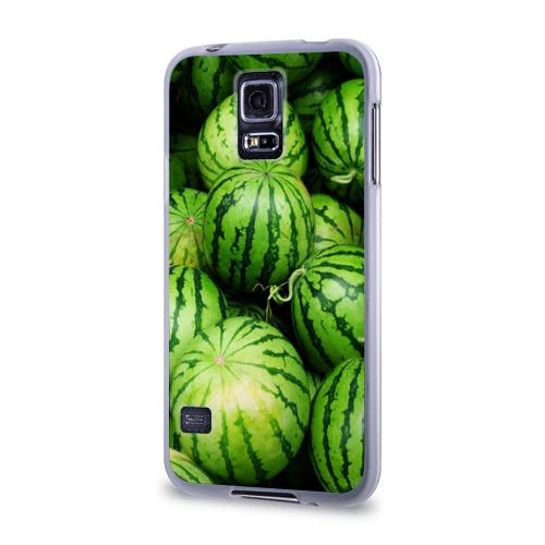 Чехол для Samsung Galaxy S5 силиконовый  Фото 03, Арбузы