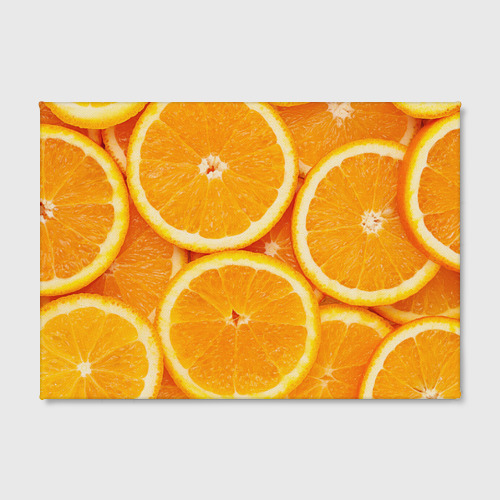 Холст прямоугольный  Фото 02, Апельсин