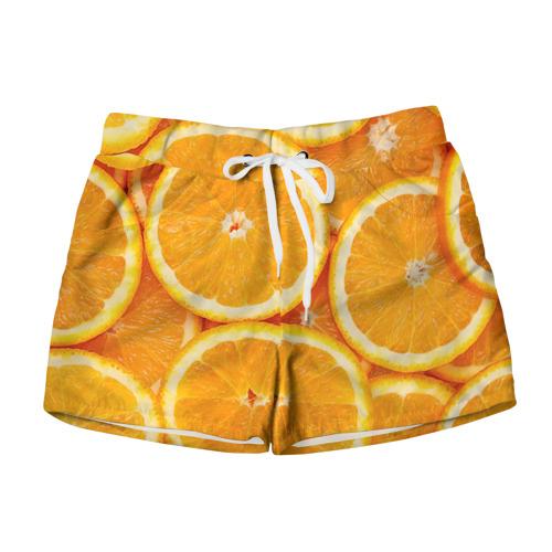 Женские шорты 3D Апельсин