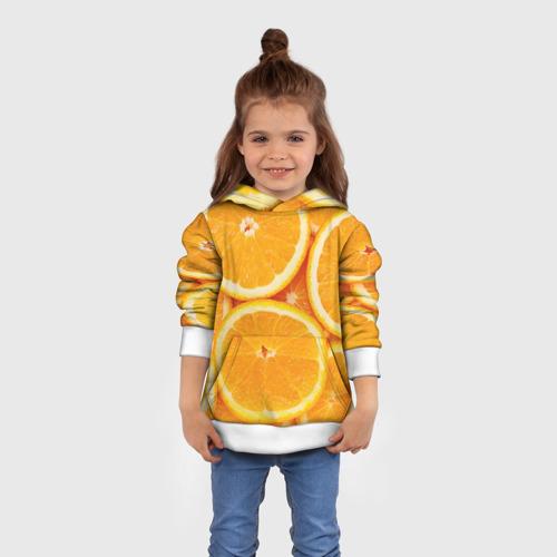 Детская толстовка 3D  Фото 01, Апельсин