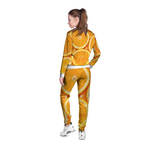 Женская олимпийка 3D  Фото 04, Апельсин