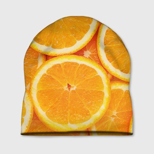 Шапка 3D Апельсин