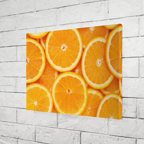 Холст прямоугольный  Фото 03, Апельсин