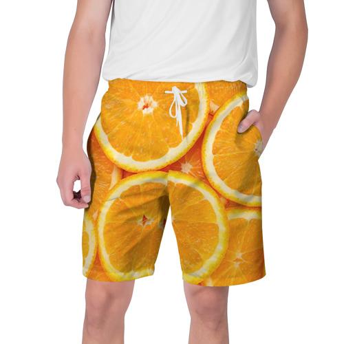 Мужские шорты 3D Апельсин