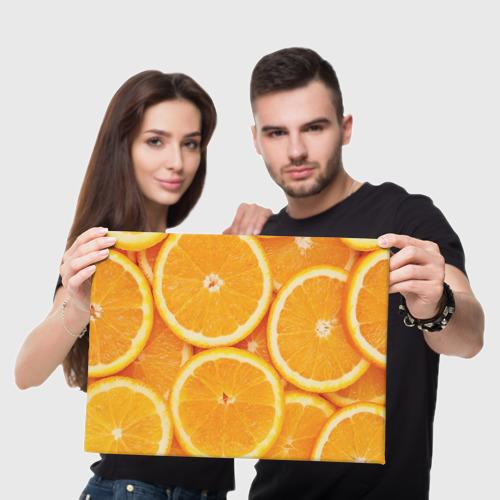 Холст прямоугольный  Фото 05, Апельсин