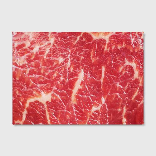Холст прямоугольный  Фото 02, Мясо