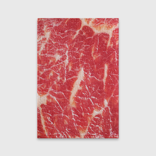 Обложка для паспорта матовая кожа  Фото 02, Мясо