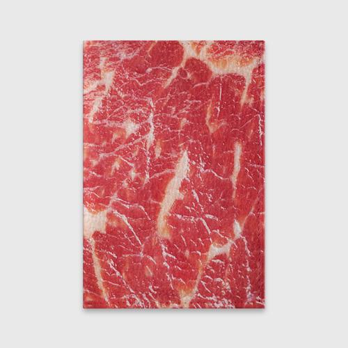Обложка для паспорта матовая кожа  Фото 01, Мясо