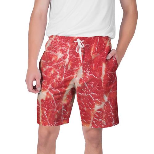 Мужские шорты 3D Мясо
