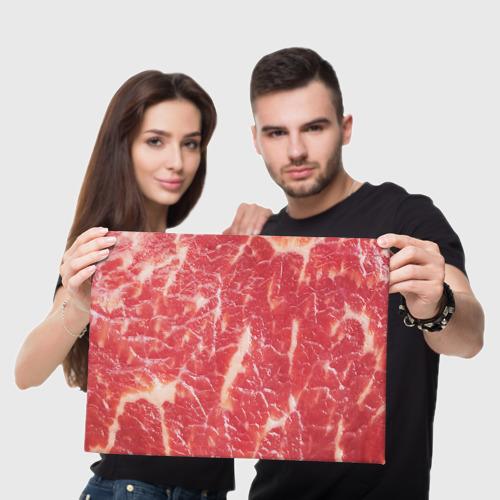 Холст прямоугольный  Фото 05, Мясо