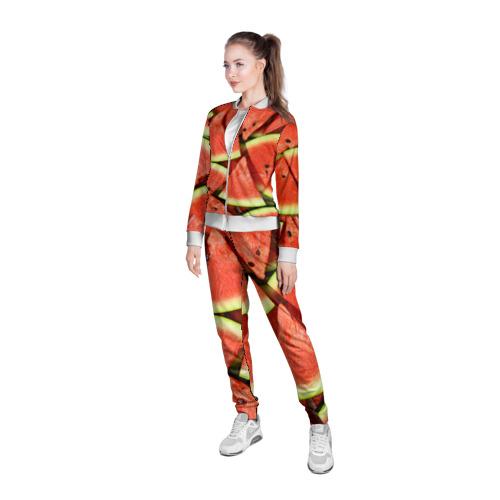 Женская олимпийка 3D  Фото 05, Дольки арбуза